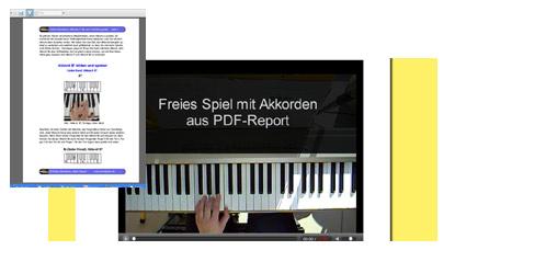 Klavierunterricht - frei Klavier spielen lernen